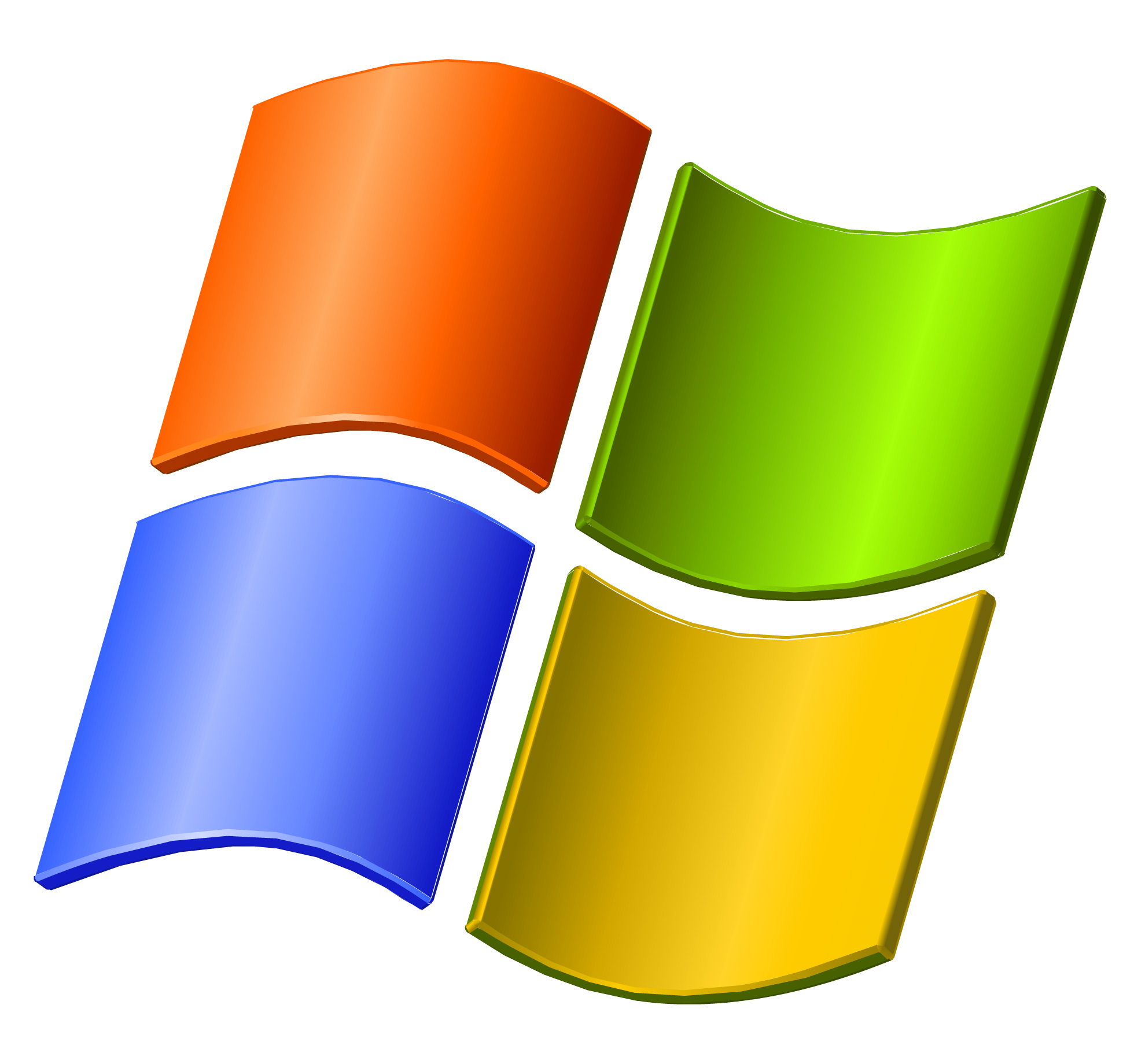 The logo microsoft windows for Microsoft windows